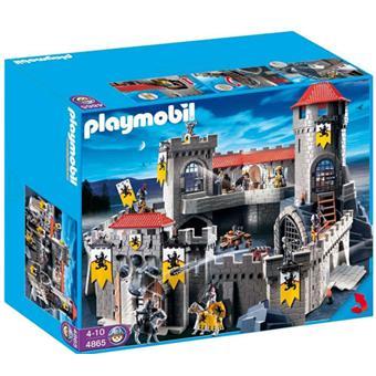playmobil 4865 ch teau fort des chevaliers du lion playmobil achat prix fnac. Black Bedroom Furniture Sets. Home Design Ideas