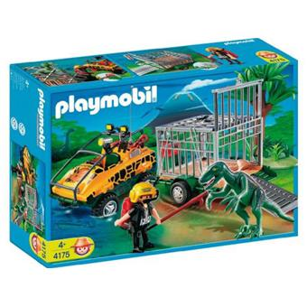 playmobil 4175 v hicule amphibie avec deinonychus playmobil achat prix fnac. Black Bedroom Furniture Sets. Home Design Ideas