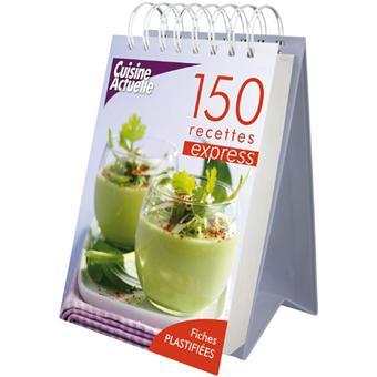 150 recettes express chevalet cuisine actuelle cartonn collectif achat livre prix. Black Bedroom Furniture Sets. Home Design Ideas