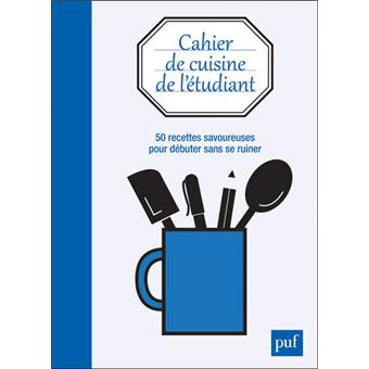 cahier de cuisine de l 39 tudiant broch collectif achat livre achat prix fnac. Black Bedroom Furniture Sets. Home Design Ideas