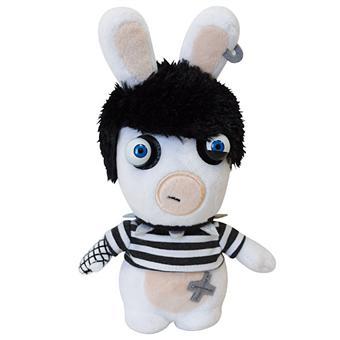 Peluche lapins cr tins gothique 18 cm sur jeux vid o achat prix fnac - Jeux lapin cretain gratuit ...