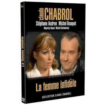 la femme infid le dvd zone 2 claude chabrol st phane audran michel bouquet achat. Black Bedroom Furniture Sets. Home Design Ideas