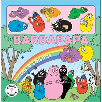 barbapapa livre magnet les quatre saisons annette. Black Bedroom Furniture Sets. Home Design Ideas