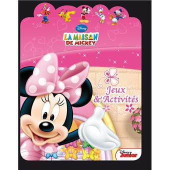 Minnie coloriage avec d coupe oreilles broch walt disney achat livre achat prix fnac - Coloriage minnie jouet ...