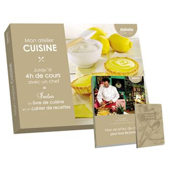 coffret cadeau dakota box mon atelier cuisine - coffrets cadeaux ... - Coffret Cadeau Cours De Cuisine