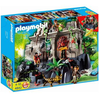 Playmobil 4842 temple du tr sor avec gardiens playmobil - Batman playmobil ...