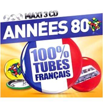 Années 80 100% tubes Français Compilation variété française
