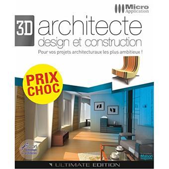 Architecture 3d ultimate edition dvd rom achat prix fnac - Logiciel d architecture professionnel ...