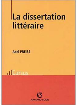 Methode de dissertation litteraire