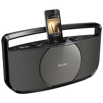 Radio Lecteur K7 CD et MP3 PHILIPS AZD175512 NOIR
