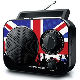Radio FM MUSE M060UK NOIR