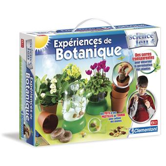 clementoni exp rience de botanique jeux scientifiques acheter sur. Black Bedroom Furniture Sets. Home Design Ideas