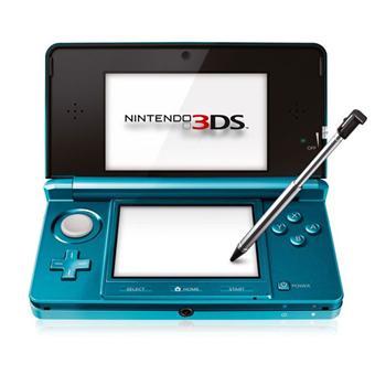 nintendo 2ds 3ds et new 3ds console nintendo 3ds bleue lagon console