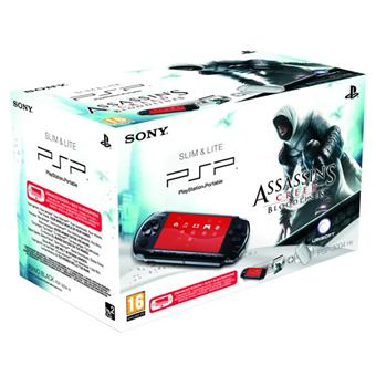 Console Sony PSP  Slim et Lite noire Assassin s Creed Bloodlines a w