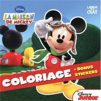 Mickey coloriage la maison de mickey walt disney broch achat livre prix - Coloriage maison de mickey ...