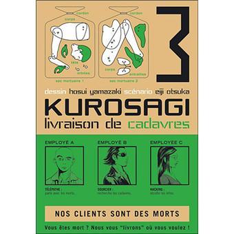 Kurosagi livraison de cadavres tome 3 kurosagi - Livraison de livre ...