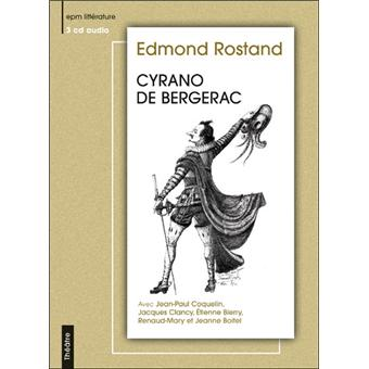cyrano de bergerac audio livre cd edmond rostand. Black Bedroom Furniture Sets. Home Design Ideas