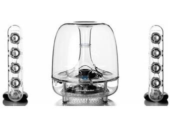 harman kardon soundsticks bluetooth enceintes surround. Black Bedroom Furniture Sets. Home Design Ideas