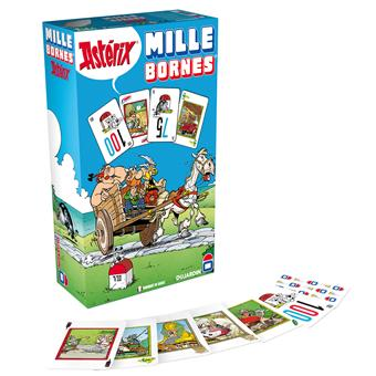 mille bornes ast rix dujardin jeu de cartes acheter sur. Black Bedroom Furniture Sets. Home Design Ideas
