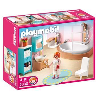 Playmobil 5330 salle de bains avec baignoire douche for Prix salle de bain playmobil