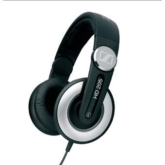 casque audio hi fi sennheiser hd205 ii casque audio top prix sur. Black Bedroom Furniture Sets. Home Design Ideas