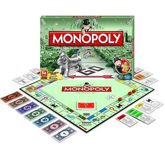 hasbro monopoly classique autre jeu de soci t achat prix fnac. Black Bedroom Furniture Sets. Home Design Ideas