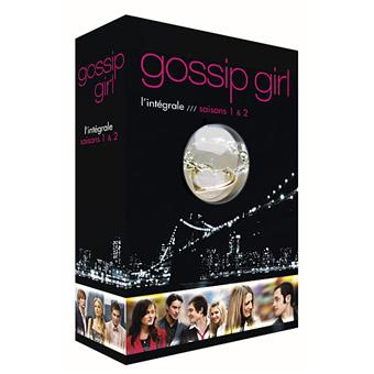 gossip girl coffret int gral des saisons 1 et 2 edition. Black Bedroom Furniture Sets. Home Design Ideas