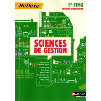 Sciences de gestion 1e stmg (p