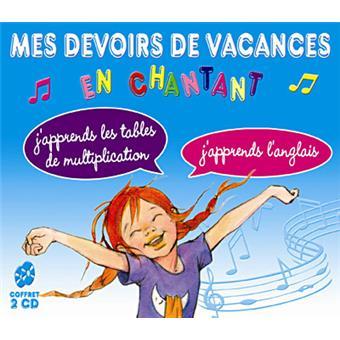 Mes devoirs de vacances en chantant enfant cd album - Tables de multiplication en chantant ...