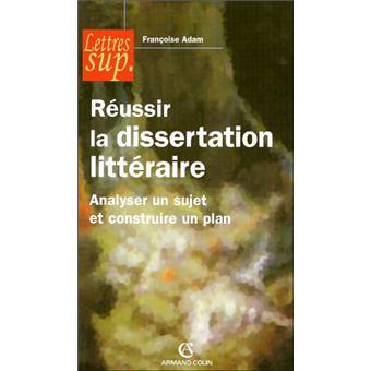 Cours de dissertation litteraire