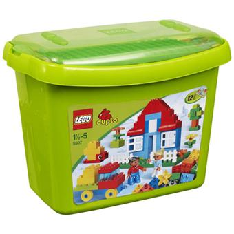 lego duplo 5507 bo te de briques de luxe lego achat prix fnac. Black Bedroom Furniture Sets. Home Design Ideas