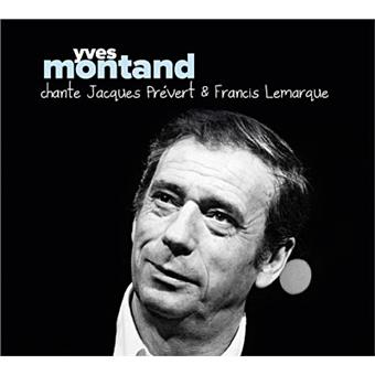 Chante jacques pr vert et francis lemarque yves montand for Le jardin yves montand