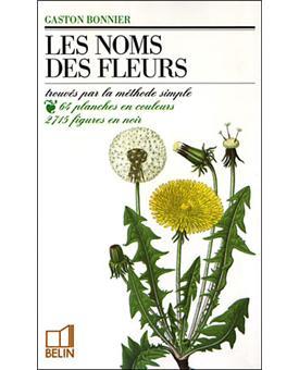 Les noms des fleurs broch gaston bonnier achat for Le prix des fleurs