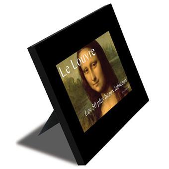 les 50 plus beaux tableaux du louvre grand format cartonn elise rousseau achat livre. Black Bedroom Furniture Sets. Home Design Ideas