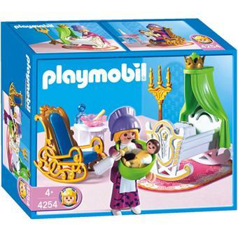 Playmobil 4254 nourrice chambre de b b playmobil for Playmobil chambre bebe