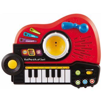 Vtech kidi pop rock 3 en 1 jouet musical achat for Bureau 3 en 1 vtech