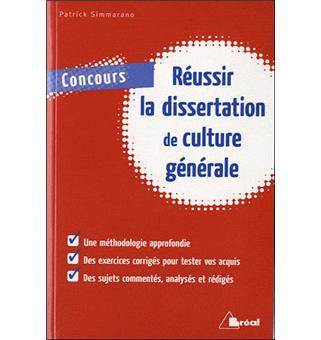 Annales Dissertation Culture Gnrale