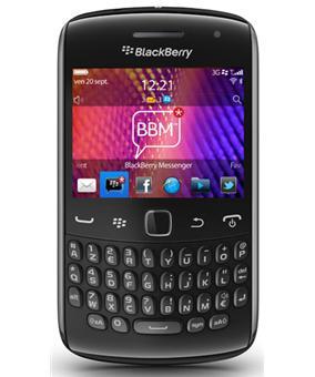 blackberry curve 9360 smartphone sous blackberry os. Black Bedroom Furniture Sets. Home Design Ideas