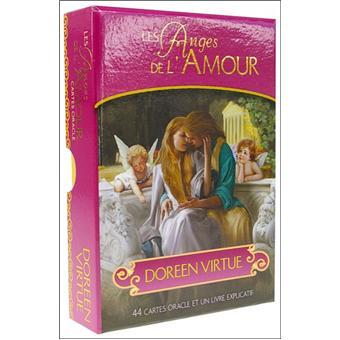 les anges de l 39 amour cartes oracle doreen virtue livre tous les livres la fnac. Black Bedroom Furniture Sets. Home Design Ideas
