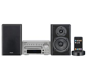 teac tc x350i argent micro cha ne achat prix fnac. Black Bedroom Furniture Sets. Home Design Ideas