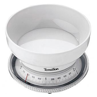 terraillon balance de cuisine m canique t205 blanche