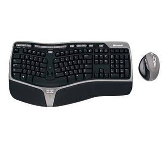 Clavier et souris MICROSOFT NATURAL ERGONOMIC DESKTOP 7000 GRIS