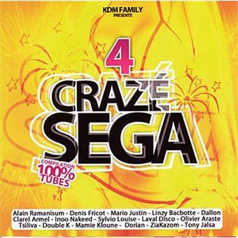 Couverture CD Craze Sega 4