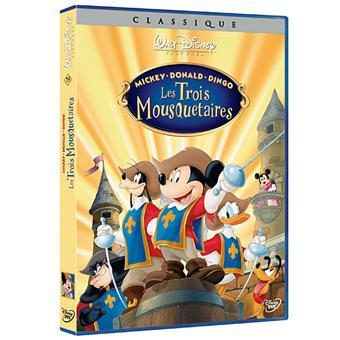 Mickey donald dingo les trois mousquetaires dvd zone - Mickey les 3 mousquetaires ...