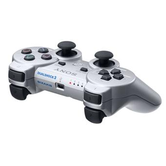 Manette Playstation  argent Dualshock PS Sony Dual Shock a w