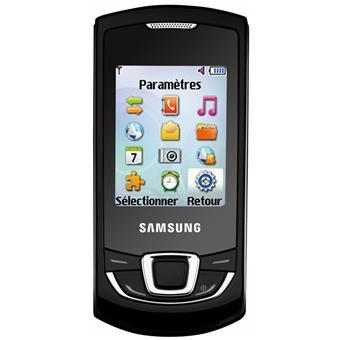 samsung e2550 t l phone mobile sans abonnement acheter. Black Bedroom Furniture Sets. Home Design Ideas