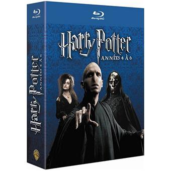harry potter coffret harry potter les ann es 4 6 blu ray coffret dvd blu ray chris. Black Bedroom Furniture Sets. Home Design Ideas