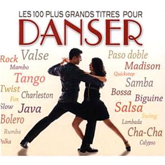Les 100 plus grands titres pour danser ambiance cd for Musique barre danse classique gratuite
