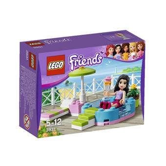 lego friends 3931 la piscine d 39 emma lego achat prix. Black Bedroom Furniture Sets. Home Design Ideas