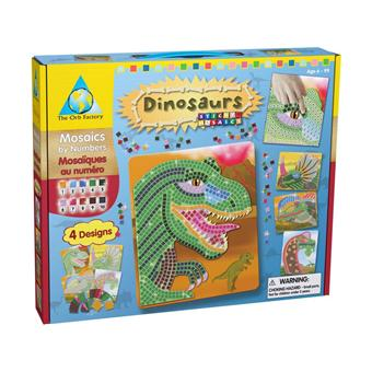 orb factory loisir cr atif sticky mosaics dinosaures mosa que achat prix fnac. Black Bedroom Furniture Sets. Home Design Ideas